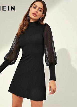 Универсальное новое стильное платье от shein и в офис и на веч...