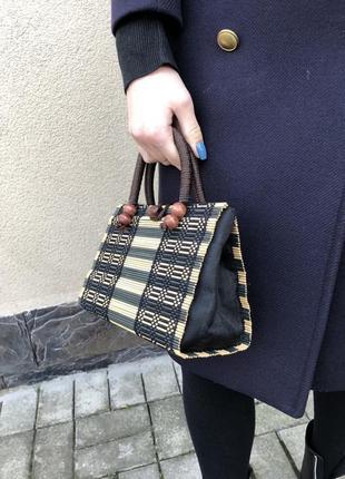 Эксклюзив,маленькая,соломенная сумочка,ридикюль,этно,бохо стиль