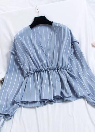 Блузка с баской🖤