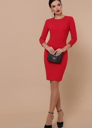 #розвантажуюсь красное платье миди