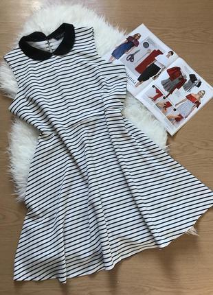 Полосатое платье  dorothy perkins