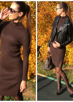 Крутое платье миди. тренд сезона