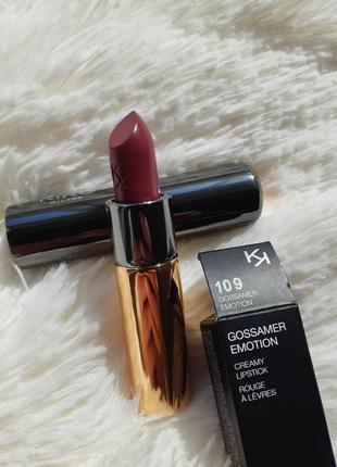 Gossamer emotion creamy lipstick кремовая помада kiko milano #...