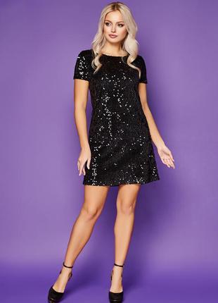 Платье в пайетки на новый год 🎄
