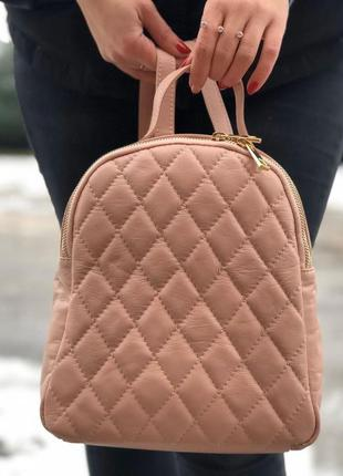 Кожаный рюкзак  италия