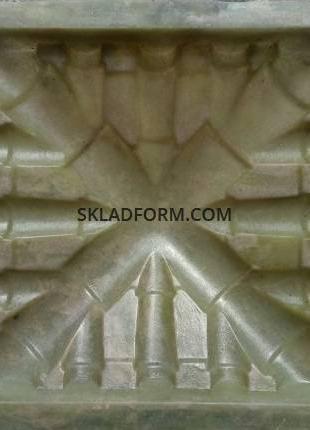 Формы крышек для столбов Черепица 5-3