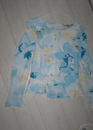 Актуальная блуза открытые плечи 8-размер турция