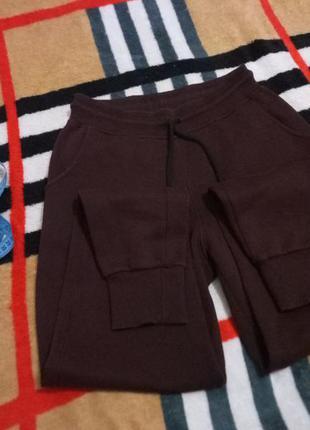 Теплые спортивные узкие штаны от casual, дизайнерские брюки в ...