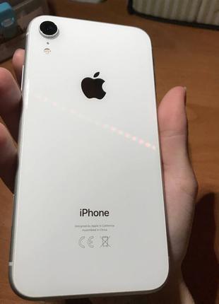 айфон xr white