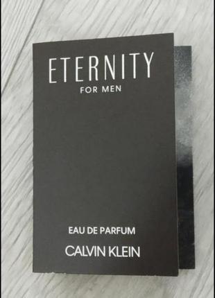 Calvin klein eternity for men eau de parfum, пробник виалка