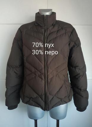 Теплая куртка-пуховик marks&spencer большой размер