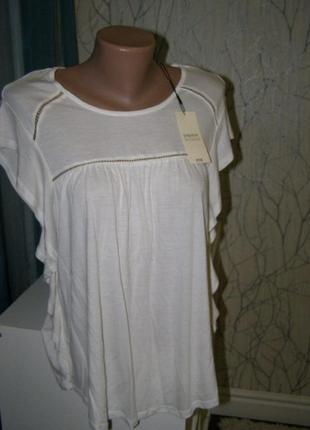 Футболка, блуза с воланами 8-размер