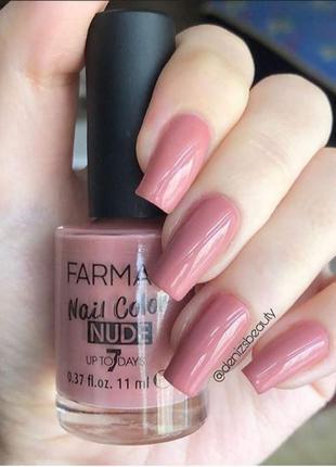 Лак для нігтів з нюдовим покриттям 03 рожевий нюд
