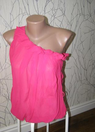 Patrizia pepe 100% шелковая блуза 42-размер. оригинал