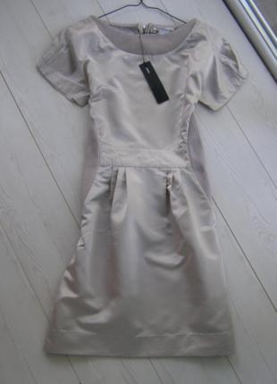 Tony cohen платье 100% шелк s-размер
