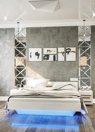 Спальня Бьянко модульно