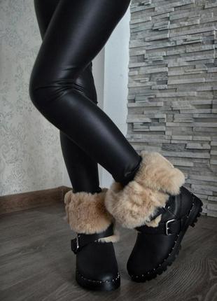 Детские ботинки сапоги на девочку фирмы zara