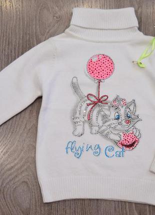 Детский свитер кофта на девочку фирмы many&many