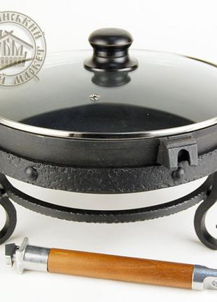 Комплект настольный + сковорода (чугун)