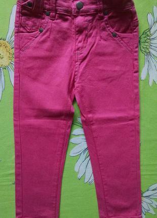 Стильные джинсы,брюки для девочки 3-4 года