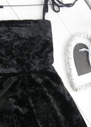 Шикарное бархатное платье от forever 21 s-m-размер