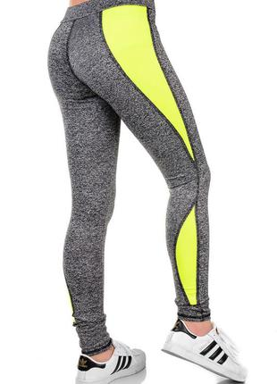 Качественные женские спортивные лосины для фитнеса,бега,йоги
