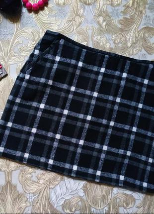 Классная теплая юбка. на бирке- 10 р-р(44)