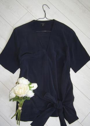 Cos блуза на запах 100% вискоза 40-размер. оригинал