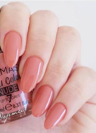 Лак для нігтів з нюдовим покриттям 12 персиковий сорбет farmasi