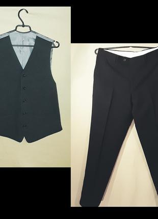 Комплект брюки + жилетка C&A