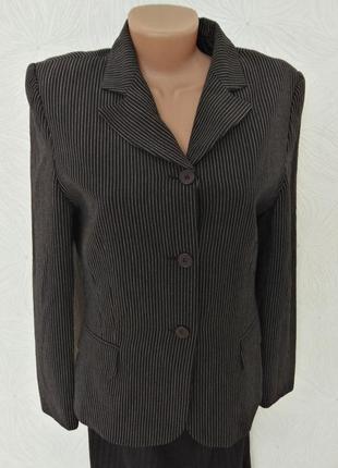 Пиджак в полоску с-м размер