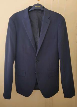 Стильный мужской пиджак зауженного кроя Lindbergh