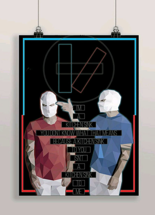 Плакат Twenty ONne Pilots