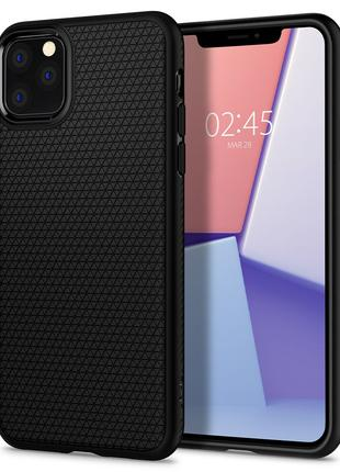 Чехол Spigen Liquid Air для iPhone 11 Pro Max  Matte Black