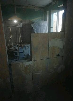 Алмазная резка бетона, демонтажные работы