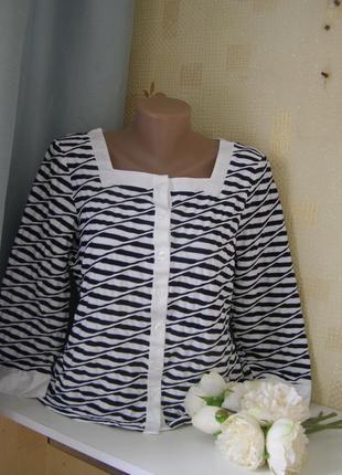 Madeleine актуальная блуза l-xl размер