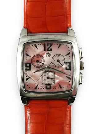 Eos new york часы из сша кожаный ремешок механизм japan sii