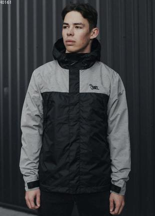 Куртка staff ter gray & black