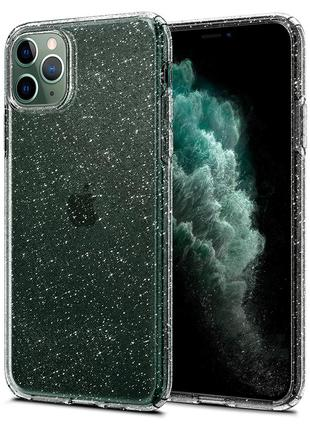 Чехол Spigen Liquid Crystal Glitter для iPhone 11 Pro Max Crystal