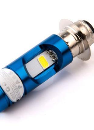 RTD LED лампа P15d25-1 (1 ус) мотолампа, мопед,скутер,Honda,Ya...