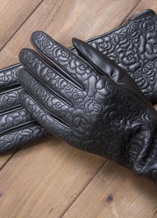 Женские кожаные перчатки для сенсорных телефонов, жіночі шкіря...