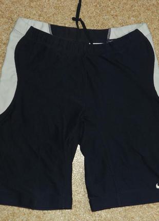 Компрессионные шорты для бега nike fit-dry