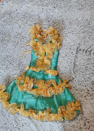 Платье нарядное, платье весны на 5-6 лет