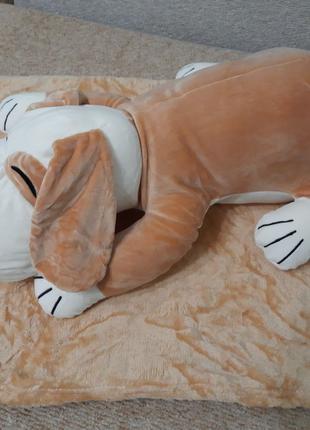Игрушка подушка плед Собачка