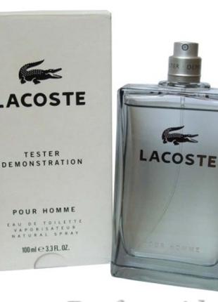 Lacoste Pour HommeTESTER (ORIGINAL)парфюмированая туалетная вода