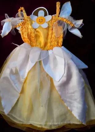 Карнавальный костюм Солнышко Сонечко для девочки 5 лет
