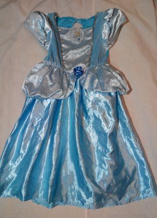 Карнавальный костюм Принцесса Дисней Золушка на девочку 3 - 4 лет