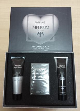 Подарочный парфюмированный набор imperium farmasi лимитированн...