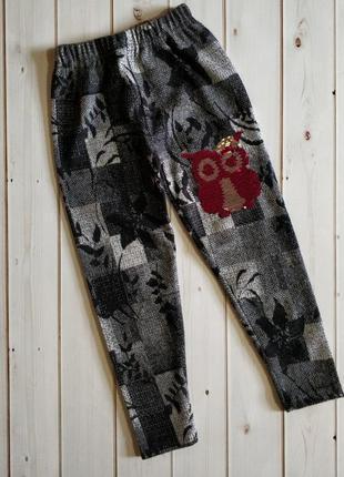 Красивые теплые лосины для детей, штаны, гамаши,см.описание
