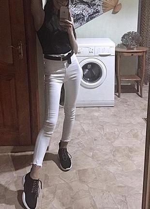 Лосины леггинсы штаны скинни/skinny высокая талия